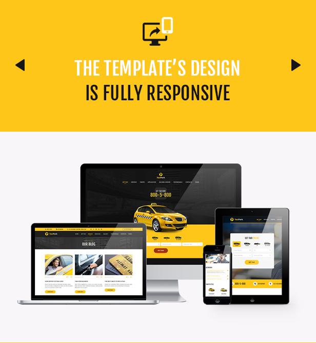 TaxiPark - Taxi Cab Service Company HTML5 Template - 3