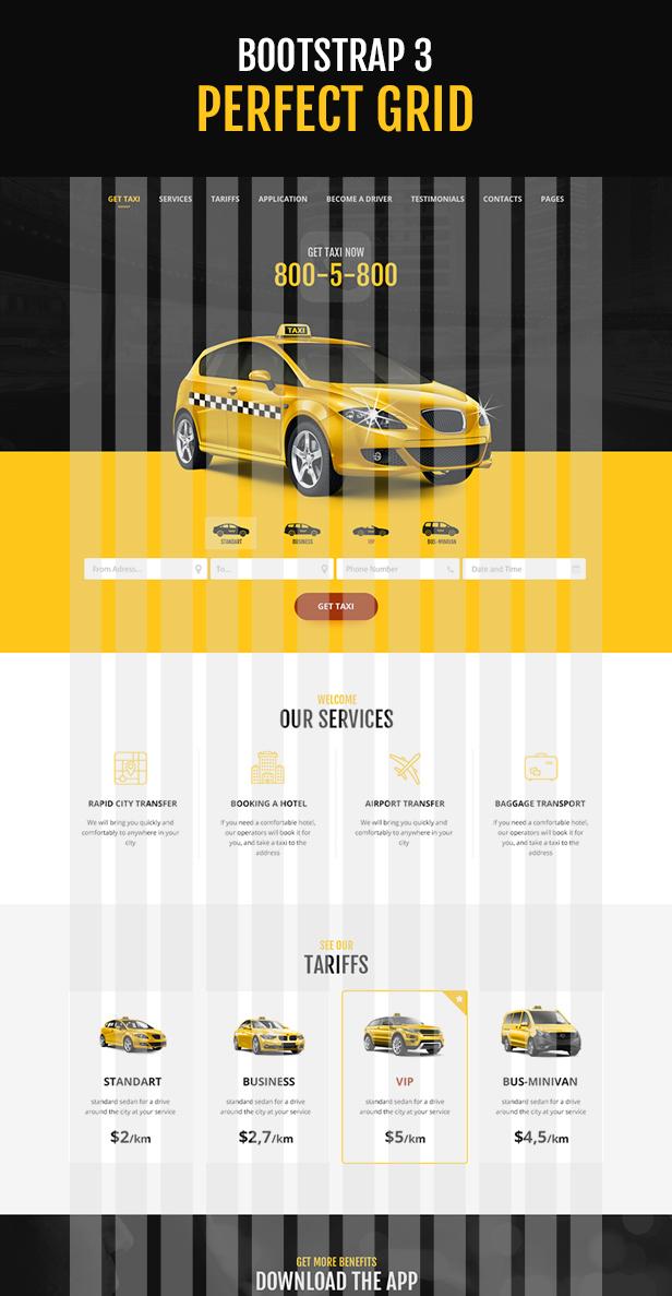 TaxiPark - Taxi Cab Service Company HTML5 Template - 4